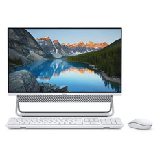 "Моноблок DELL Inspiron 5400, 23.8"", Intel Core i5 1135G7, 8ГБ, 1000ГБ, 256ГБ SSD, NVIDIA GeForce MX330 - 2048 Мб, Windows 10 Professional, серебристый [5400-2430]"