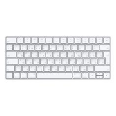 Клавиатура APPLE Magic Keyboard 2, USB, беспроводная, серебристый [mla22ru/a]
