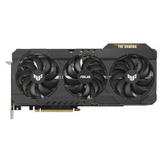 Видеокарта ASUS NVIDIA GeForce RTX 3080 , TUF-RTX3080-O10G-GAMING, 10ГБ, GDDR6X, OC, Ret