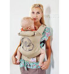 Рюкзак-кенгуру Slingme Малыш