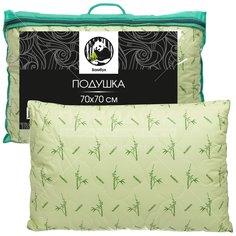 Подушка Бамбук в тике В, тик, 70х70 см