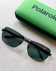 Солнцезащитные очки-авиаторы Polaroid-Черный