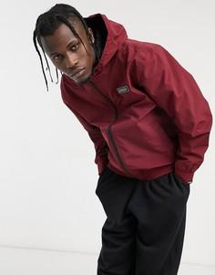 Бордовая куртка с нашивкой Napapijri-Красный