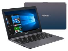 Ноутбук ASUS E203NA-FD110T 90NB0EZ2-M08030 Выгодный набор + серт. 200Р!!!(Intel Celeron N3550 1.1GHz/4096Mb/128Gb/No ODD/Intel HD Graphics/Wi-Fi/11.6/1366x768/Windows 10 64-bit)