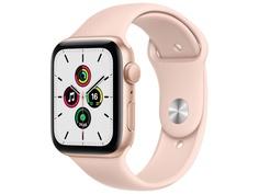 Умные часы APPLE Watch SE 44mm Gold Aluminium Case with Pink Sand Sport Band MYDR2RU/A Выгодный набор + серт. 200Р!!!