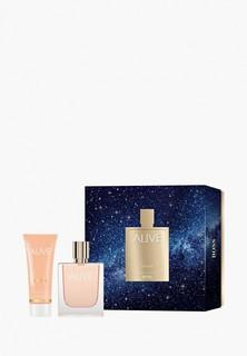 Набор парфюмерный Hugo Boss Alive, Парфюмерная вода 50 мл + гель для душа 50 мл