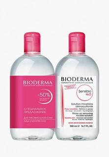 Набор для ухода за лицом Bioderma Мицеллярная вода Sensibio AR H2O