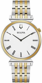 Японские наручные мужские часы Bulova 98A233. Коллекция Classic