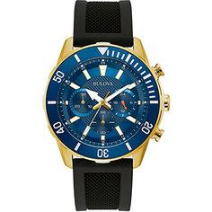 Японские наручные мужские часы Bulova 98A244. Коллекция Sports
