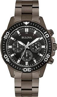 Японские наручные мужские часы Bulova 98A249. Коллекция Sports