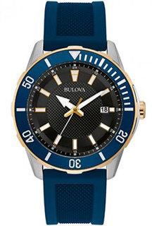 Японские наручные мужские часы Bulova 98B345. Коллекция Sports
