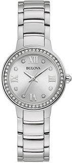 Японские наручные женские часы Bulova 96L280. Коллекция Crystal Ladies