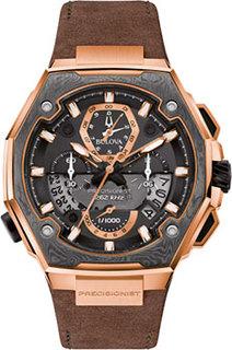 Японские наручные мужские часы Bulova 98B356. Коллекция Precisionist