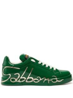 Dolce & Gabbana кроссовки Portofino