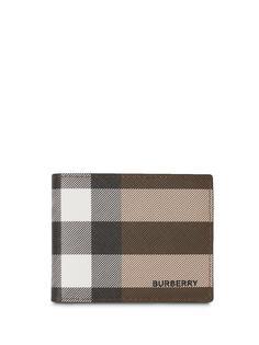 Burberry бумажник в клетку