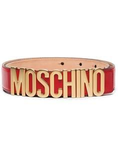 Moschino ремень с логотипом