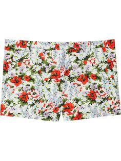 Marc Jacobs шорты с цветочным принтом