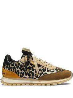 Marc Jacobs кроссовки Jogger с леопардовым принтом