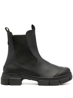 GANNI ботинки на массивной подошве
