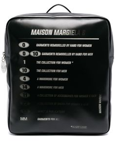 MM6 Maison Margiela рюкзак Motorcross с логотипом