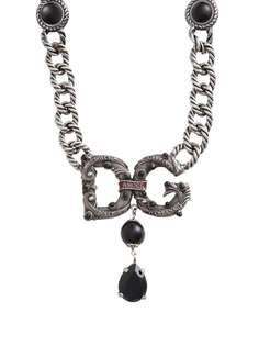 Dolce & Gabbana цепочка на шею с логотипом