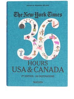 TASCHEN книга The New York Times 36 Hours: USA & Canada