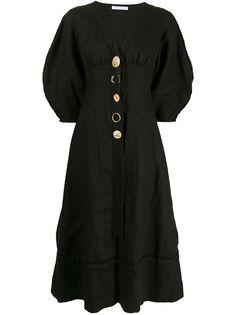 Rachel Gilbert платье Capri на пуговицах