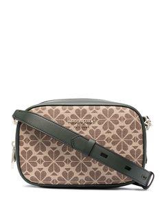 Kate Spade каркасная сумка Spade Flower Infinite среднего размера
