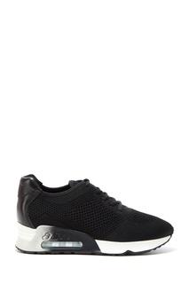 Черные комбинированные кроссовки Lucky Ash