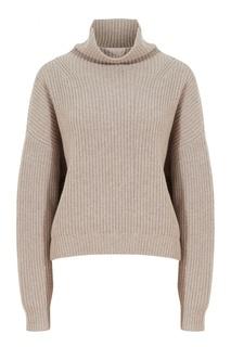 Серый шерстяной свитер Brooke Isabel Marant