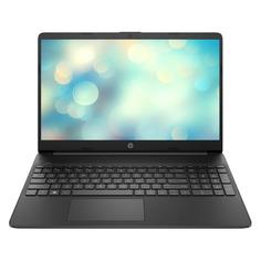 "Ноутбук HP 15s-eq0077ur, 15.6"", IPS, AMD Ryzen 5 3500U 2.1ГГц, 8ГБ, 256ГБ SSD, AMD Radeon Vega 8, Free DOS 3.0, 2L2T0EA, черный"