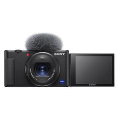 Экшн камеры Экшн-камера SONY ZV-1 для ведения видеоблога 4K, WiFi, белый [zv1w.ce3]