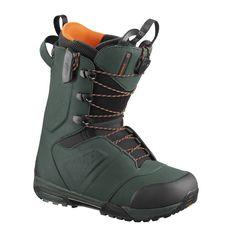 Ботинки сноубордические Salomon 18-19 Synapse Dark Green - 42,5 EUR