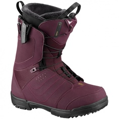 Ботинки сноубордические Salomon 18-19 Pearl Bordeaux - 36,5 EUR