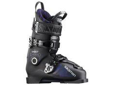 Ботинки горнолыжные Salomon 17-18 Ghost FS 100 Black/Dark Purple - 25,5 см