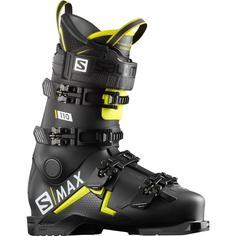Ботинки горнолыжные Salomon 19-20 S/Max 110 Black/Acid Green - 29,0/29,5 см