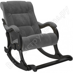 Кресло-качалка комфорт модель 77, венге, ткань verona antrazite grey 68442