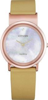 Японские женские часы в коллекции Citizen L Женские часы Citizen EG7073-16Y