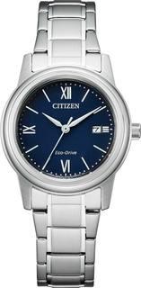 Японские женские часы в коллекции Eco-Drive Женские часы Citizen FE1220-89L