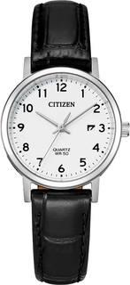 Японские женские часы в коллекции Basic Женские часы Citizen EU6090-03A