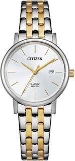 Японские женские часы в коллекции Basic Женские часы Citizen EU6094-53A