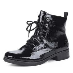 Ботинки Черные ботинки на шнуровке Rieker