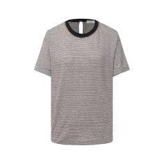 Льняная футболка Brunello Cucinelli