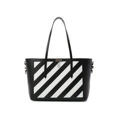 Сумка-шопер Diagonal Stripe Off-White