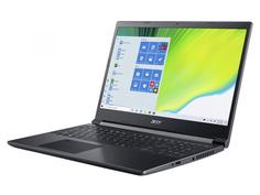 Ноутбук Acer Aspire A715-41G-R8H6 NH.Q8QER.00C (AMD Ryzen 7 3750H 2.3 GHz/16384Mb/512Gb SSD/nVidia GeForce GTX 1650Ti 4096Mb/Wi-Fi/Bluetooth/Cam/15.6/1920x1080/no OS)