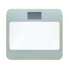 Весы напольные Xinyu 330х300х21мм желтые