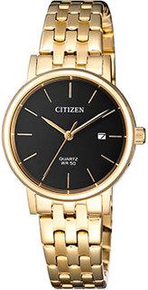 Японские наручные женские часы Citizen EU6092-59E. Коллекция Classic