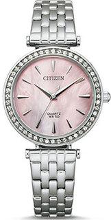 Японские наручные женские часы Citizen ER0210-55Y. Коллекция Elegance