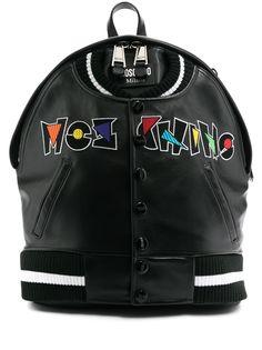 Moschino рюкзак с вышитым логотипом