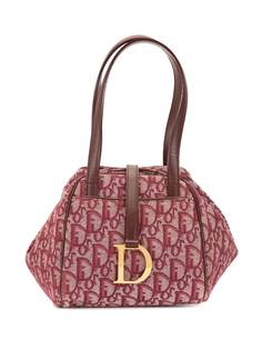Christian Dior мини-сумка pre-owned с узором Trotter